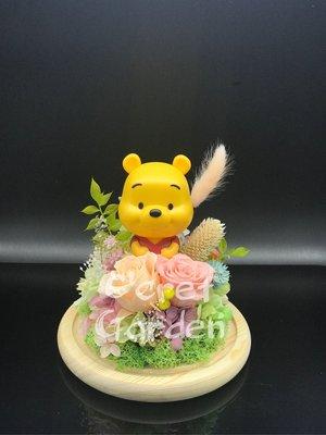 Winnie the poon 小熊維尼 保鮮花 情人節禮物