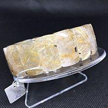 巴西鈦晶手排 重78.6克 寬21咪 手圍20 編號A48