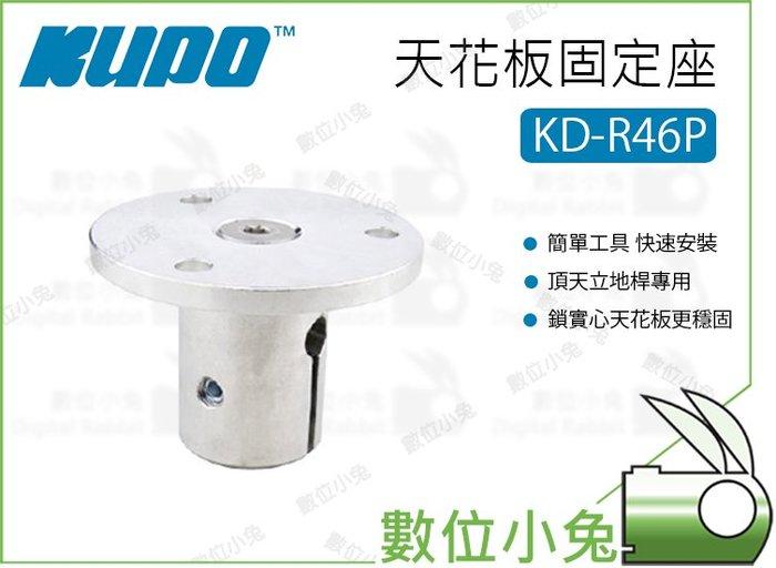 數位小兔【Kupo KD-R46P 天花板固定座】配件 天花板 鋁合金 固定座 頂天立地桿配件區