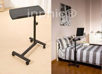 INPHIC-熱銷款360度水平旋轉桌面 移動升降notebook桌 床上電腦桌 床邊桌
