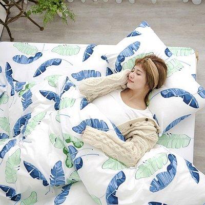 [SN]#U104#細磨毛天絲絨6x6.2尺雙人加大床包+枕套三件組-台灣製(不含被套)