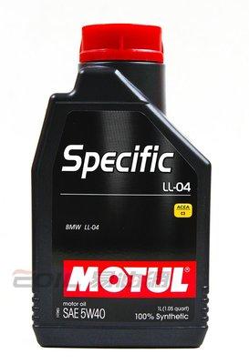 【易油網】MOTUL SPECIFIC LL-04 5W40全合成機油5W-40 MOBIL ENI