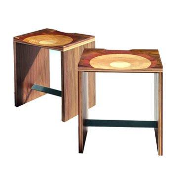 Luxury Life【預購】義大利 Horm Ripples Stool 漣漪 原木椅凳 / 高腳椅(高尺寸)