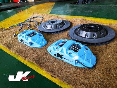 JK Racing S1前大四活塞卡鉗組 搭配 330mm 單片式碟盤(劃線) TOYOTA PREVIA 多色系