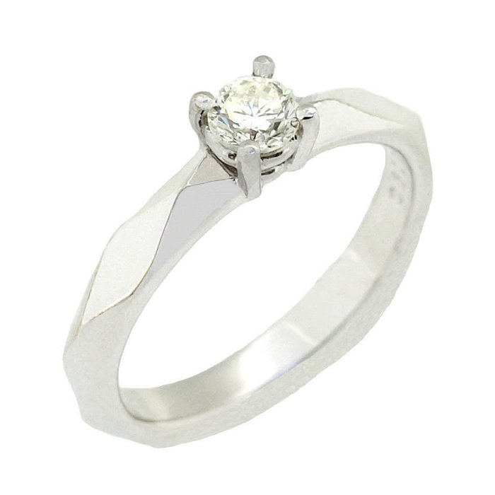 【JHT 金宏總珠寶/GIA鑽石專賣】0.23ct天然鑽石戒指/材質:18K(D000208)