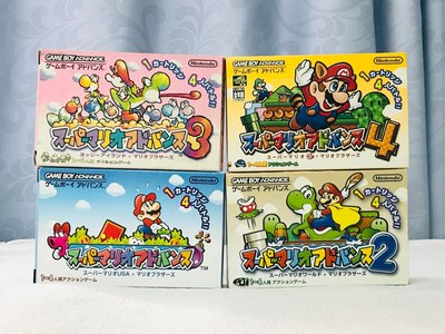 GBA game Mario Advance 1+2+3+4 全集 日版
