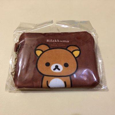 拉拉熊 懶懶熊 絨布錢包 票卡夾 2款可選