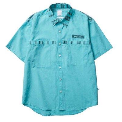 日牌 LIBERAIDERS DESTINATION UNKNOWN S/S SHIRT 襯衫