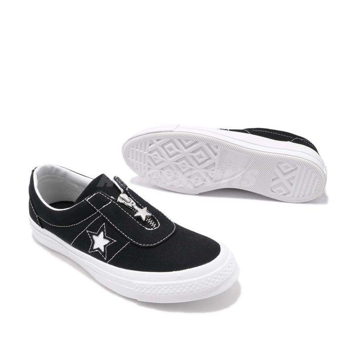 【吉米.tw】CONVERSE ONE STAR SLIP 運動休閒鞋 男女款 黑色 情侶鞋 經典百搭 564206C