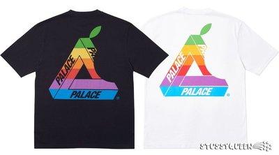 【超搶手】全新正品  2019 Palace Jobsworth T-Shirt Tee 蘋果 三角 S M L XL
