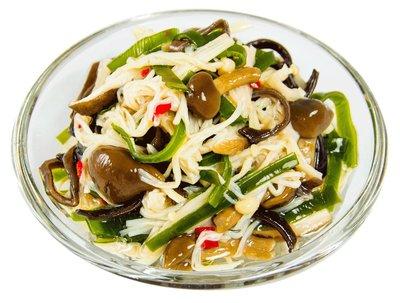 【免煮小菜】昆布蕈菇/約200g~多種菇類、木耳、昆布搭配出的全素小菜,營養滿分,令人百吃不厭