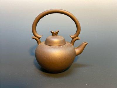 紫菱子提樑紫砂茶壺
