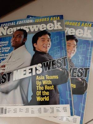 成龍英文雜誌《Newsweek》限量絕版~珍藏品