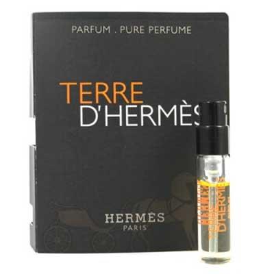 【美妝行】Hermes Terre DHermes 愛馬仕 大地 香精 1.5ML 噴式 (原廠試管/針管)