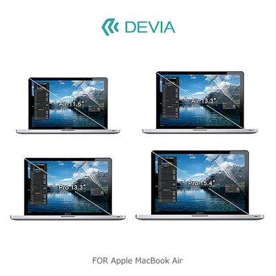 *phone寶*DEVIA Apple MacBook Air11 /  12 /  Air13 吋 螢幕保護貼 靜電吸附 台南市