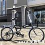 【愛爾蘭自行車】20吋 7速 鋁合金輪圈 擋泥...