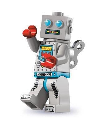 現貨【LEGO 樂高】積木/ Minifigures人偶系列: 6代人偶包抽抽樂 8827 | 發條機器人 Robot