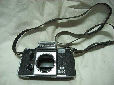 二手-德國製造 Porst Reflex FX 6 black 古董相機 機械式相機  機身