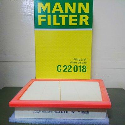 (C+西加小站)MINI F54 F55 F56 F57 F60 2014年後款 MANN 空氣芯 C22018