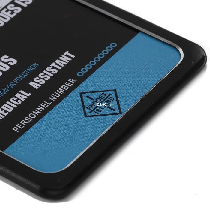『I&K小鋪』 買2送1 明日方舟羅德島金屬卡套二次元學生便攜式公交卡飯卡卡套