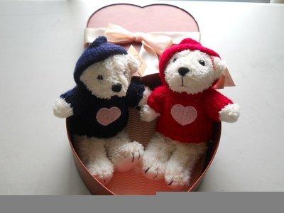 全新中華電信emome泰迪熊小熊家族絨布熊禮盒香氛甜心寶貝熊