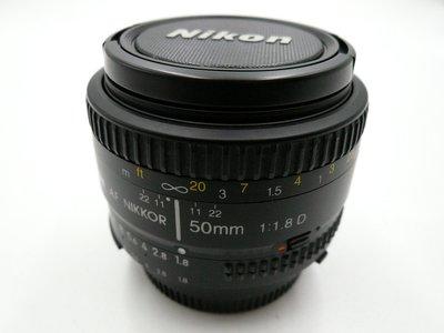 Nikon AF 50mm F1.8D    **JAPAN標 - 早期非環保版**