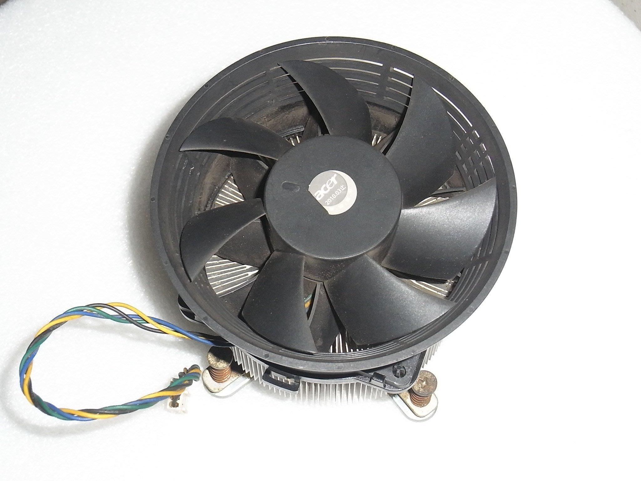 Intel CPU風扇 775專用CPU散熱風扇 (加厚型/小4P)含強化背板