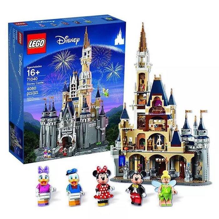 James room#正版美國直郵樂高LEGO益智積木玩具 71040迪士尼城堡 男孩女孩禮物