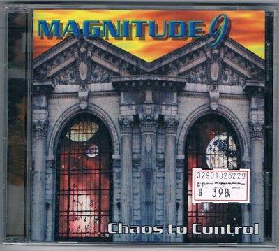 [鑫隆音樂]西洋CD-九極光合唱團 Magnitude 9 :完全失控Chaos to control /全新/免競標