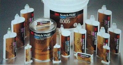 【低價王】3M Scotch Weld AB膠 結構膠 Epoxy接著劑 PU接著劑 Acrylic接著劑【結構者聯盟】
