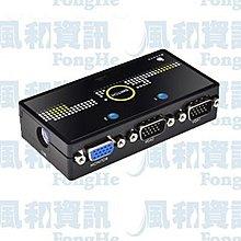 BENEVO BVS201 磁吸型 2埠VGA螢幕切換器(自動與按鍵切換)【風和資訊小舖】