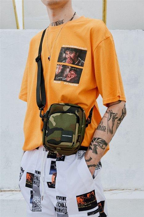 Cover Taiwan 官方直營小包斜背包手機包錢包情侶潮流嘻哈黑色迷彩 3a8d6f39d6
