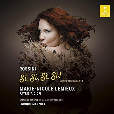 「就是羅西尼」詠嘆調與二重唱/瑪麗-妮可.勒繆〈女低音〉派翠西亞.西歐菲〈女高音〉---9029595326