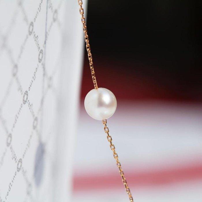 ❤羅莎莉歐美精品代購❤法國紅線RedLine 單顆珍珠手鍊 -代購