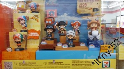 7-11海賊王 CHOPPER WORLD 公仔 9號 柔力强化 索柏 $10