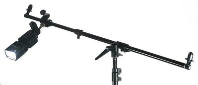 呈現攝影-反光板夾臂+C型夾公頭組 反...