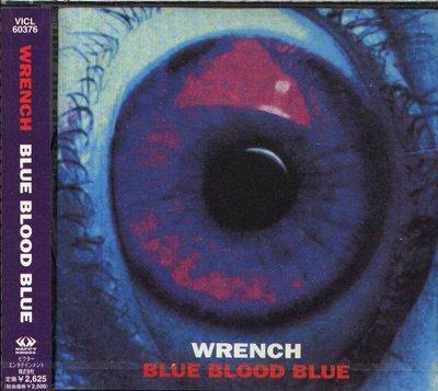 K - WRENCH - Blue Blood Blue - 日版 - NEW