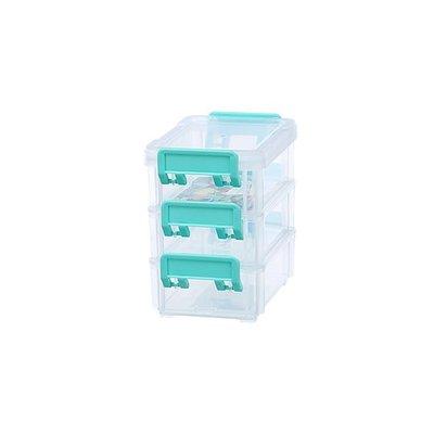 315百貨~聯府 CC-303 3號高點連結盒(3入)     /  小物盒 收納整理盒 五金 飾品 釣具盒