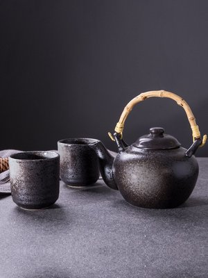 有一間店-日式復古陶瓷茶壺茶杯餐廳民宿水杯飯店水壺茶具套裝(規格不同 價格不同)