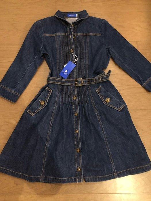 Burberry blue label 日本藍標 牛仔洋裝