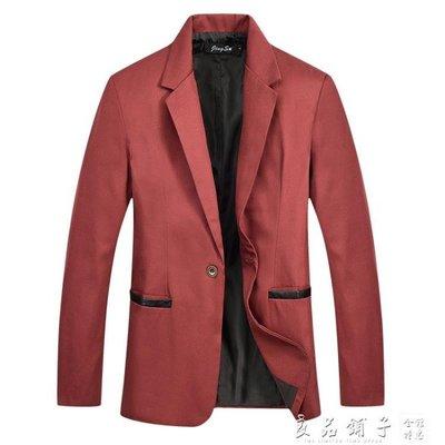 單西服男修身 韓版休閒 男士西裝潮上衣外套帥氣春季2019新款潮流