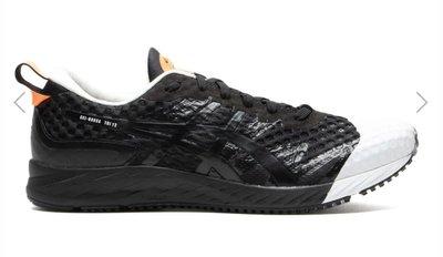 亞瑟士 Asics x Affix GEL-NOOSA TRI 輕量化慢跑鞋 黑白橘配色。太陽選物社