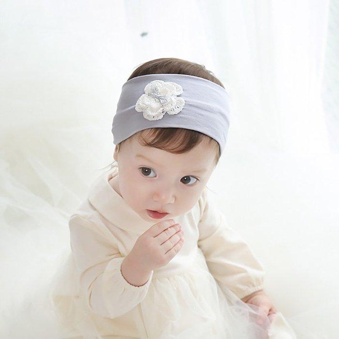 ☆草莓花園☆B43秋冬新品嬰兒髮帶 小花棉布 安全舒適 兒童髮飾 寬髮箍 嬰兒髮帶 髮冠 皇冠 造型周歲照 藝術照