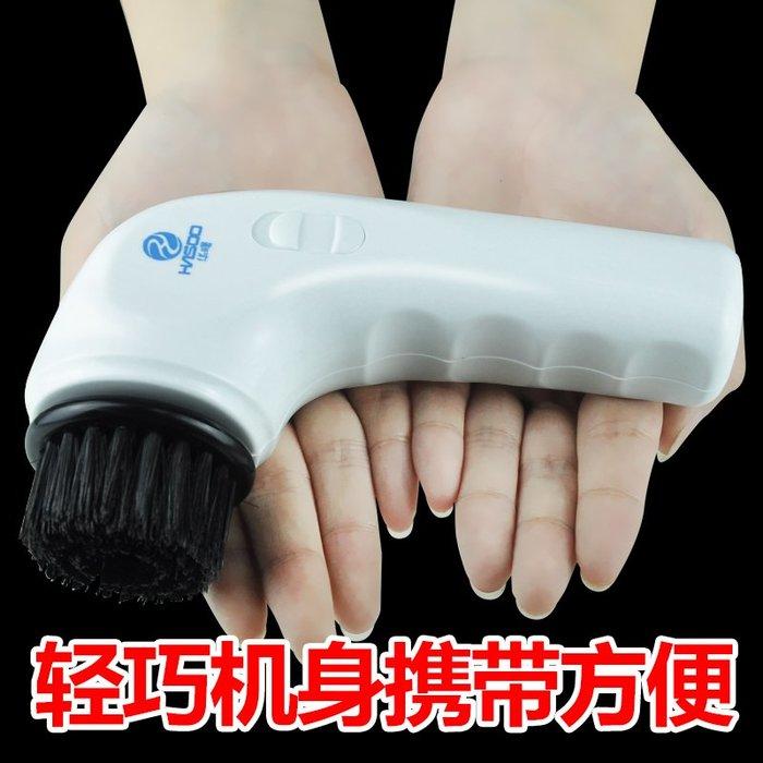 手持電動鞋油鞋刷套裝家用擦鞋機皮鞋拋光刷軟毛鞋刷子清潔多功能