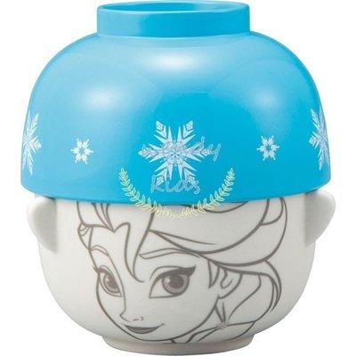 【現貨】【Wendy Kids】日本進口 陶瓷湯碗 冰雪奇緣款 雙碗組
