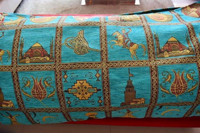 土耳奇藍 土耳其製造 絕美多功能毯子 只有1條!!!