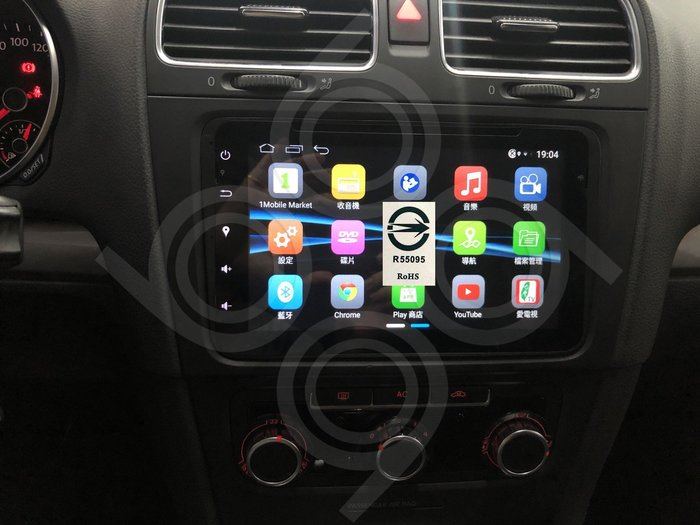 Volkswagen 福斯 golf -8吋安卓專用機.Android.觸控螢幕.usb.導航.網路電視.公司貨保固一年
