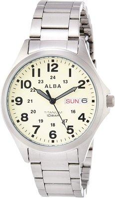 日本正版 SEIKO 精工 ALBA AQPJ401 男錶 手錶 日本代購