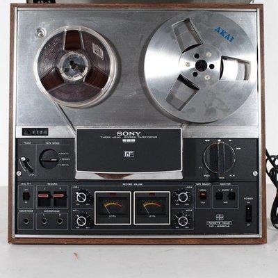 百寶軒 古董日本唱機Sony/索尼TC-6360A錄音開盤機4軌單向高品質磁帶機 ZG3330