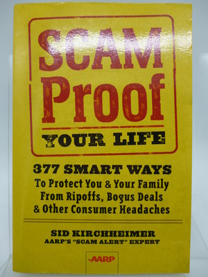 【月界二手書店2】Scam Proof Your Life_Sid Kirchheimer 〖理財〗ABG